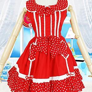 cheap Lolita Dresses-Sweet Lolita Dress Women's Dress Cosplay Sleeveless Short Length Costumes