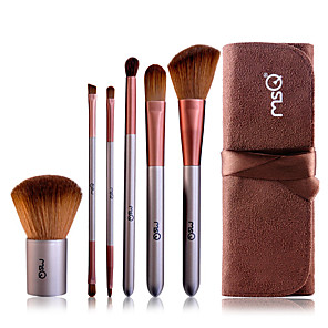 cheap Eyeliner Brushes-Professional Makeup Brushes Makeup Brush Set 6pcs Goat Hair / Synthetic Hair Makeup Brushes for Makeup Brush Set