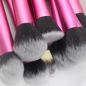 cheap Makeup Brush Sets-Makeup Brushes Premium Synthetic Blush Eyeshadow Lip Make up 20Pcs Brush Set Red blue gold 3 Different colors