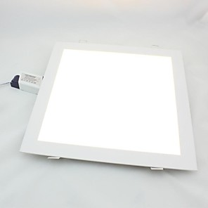 cheap LED Recessed Lights-1PC 24W 1950LM Square Flat LED Panel Light LampUltra-thin LED Recessed Ceiling Light Cold White / Warm White AC85-265V Mount Hole 285*285mm