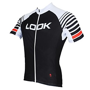 cheap Cycling Jerseys-ILPALADINO Men's Short Sleeve Cycling Jersey Patchwork Bike Jersey Top Breathable Quick Dry Ultraviolet Resistant Sports Clothing Apparel