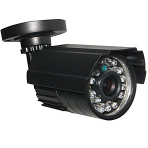 cheap Outdoor IP Network Cameras-CCTV HD 24IR 900TVL CMOS IR-CUT Day/Night Waterproof Home Security Camera with Bracket