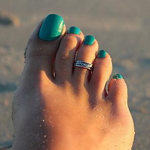 povoljno Ukrasi na tijelu-Nakit za tijelo/Prstenje za nožne prste Legura Others Jedinstven dizajn Moda Srebrna 1pc