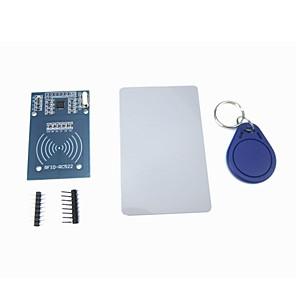 cheap Sensors-MFRC-522 RC522 RFID Module IC Card Induction Sensor with Free S50 Card Key Chain