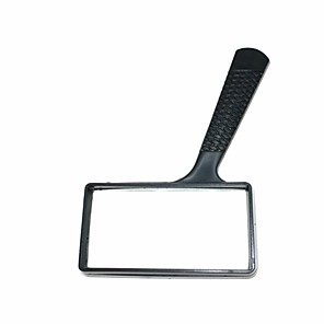 cheap Magnifying Glasses-Handheld Reading 5X Square Magnifier