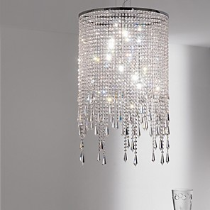 cheap Candle-Style Design-MAISHANG® 3-Light 30(11.8 cm Crystal Pendant Light Metal Crystal Electroplated Traditional / Classic / Modern 110-120V / 220-240V