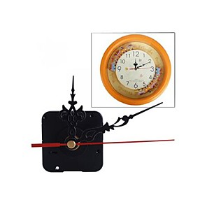 cheap Clock Parts-Modern Contemporary Plastic Square Houses Indoor AA Decoration Wall Clock Analog No