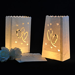 cheap Wedding Decorations-Candle & Holder Mixed Material Wedding Decorations Wedding Party Garden Theme / Classic Theme All Seasons
