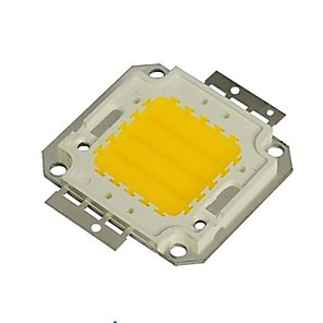 cheap Light Bulbs-ZDM 1PC DIY 30W 2800-3500LM Warm White 3000-3500K  Light Integrated LED Module (DC33-35V 0.8A) Street Lamp for Projecting Light  Gold Wire Welding of Copper Bracket