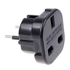 cheap TWS True Wireless Headphones-UK to EU AC Power Travel Plug Adapter Socket Converter 10A/16A 240V