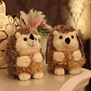 cheap Stuffed Animals-2 pcs Stuffed Animal Plush Toys Plush Dolls Hedgehog Textile 18cm Imaginative Play, Stocking, Great Birthday Gifts Party Favor Supplies Boys and Girls Adults Kids
