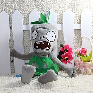cheap Stuffed Animals-Allhallowmas Plants Vs Zombies Grass Skirt Zombie Plush Toy Size 28CM