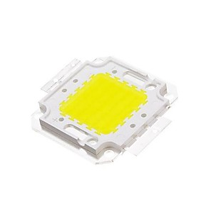 cheap Plant Growing Lights-ZDM DIY 50W 4500-5500LM  White 6000-6500K  Light Integrated LED Module (33-35V) Street Lamp for Projecting Light Gold Wire Welding of Copper Bracket