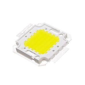 cheap Light Bulbs-ZDM DIY 50W 4500-5500LM  White 6000-6500K  Light Integrated LED Module (33-35V) Street Lamp for Projecting Light Gold Wire Welding of Copper Bracket