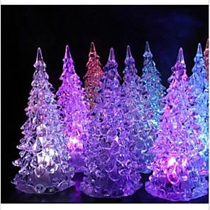cheap Christmas Decorations-1 set Santa Christmas Lights, Holiday Decorations Party Garden Wedding Decoration 12.5*5.0*5.0 cm