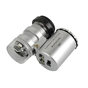 cheap Smart Home-Universal 60X Microscope Lens Set for Iphone / Ipad / Samsung / HTC + More Cellphone / Tablet PC