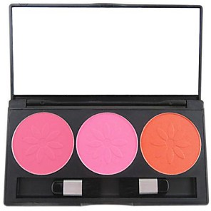 cheap Blush-3-color-professional-blush-blusher-powder-makeup-cosmetic-palette-with-mirror-brush-set-showy-color