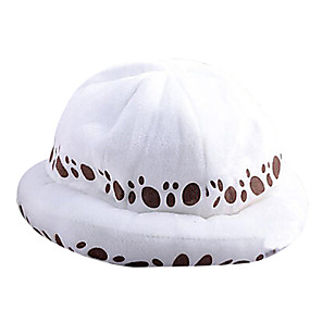 cheap Anime Costumes-Hat / Cap Inspired by One Piece Trafalgar Law Anime Cosplay Accessories Cap Hat Terylene Men's Halloween Costumes