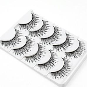 billige makeup børste sæt-Øjenvippe Makeupværktøj Falske øjenbryn Volumiseret Naturlig Fiber Daglig Naturligt lange - Makeup Daglig makeup Kosmetiske Plejemidler