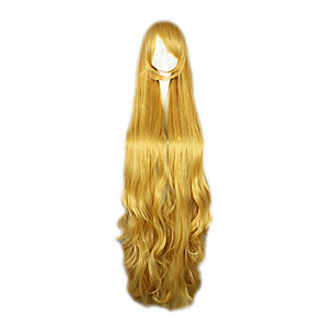 cheap Anime Cosplay Wigs-Cosplay Victorique De Blois Cosplay Wigs Women's 50 inch Heat Resistant Fiber Anime Wig