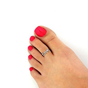 cheap Jewelry Sets-Women's European Fashion Love Alloy Toe Ring (1 Pc)