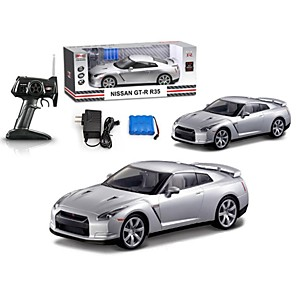 cheap RC Cars-MJX toys Electric Remote control car VED 1:14 GT-R R35 rc car large drift radio control RC sports car Inc.Battery