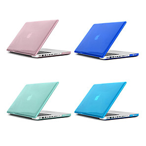 cheap Mac Accessories-MacBook Case Solid Colored / Transparent Plastic for Macbook Pro 13-inch / Macbook Pro 15-inch