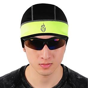 cheap Fascinators-WOLFBIKE Cycling Beanie / Hat Helmet Liner Hat Headsweat Ultraviolet Resistant Detachable Cap Bike / Cycling Black Green Polyester Fleece Winter for Men's Women's Adults' Camping / Hiking Fishing