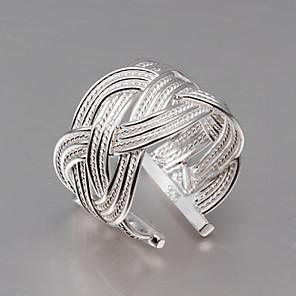 povoljno Modne narukvice-Prilagodljivi prstenVintage / Slatko / Zabava / Posao / Ležerne prilike(Sterling srebro