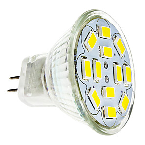 cheap LED Spot Lights-2 W LED Spotlight 240-260 lm GU4 12 LED Beads SMD 5730 Warm White Cold White 12 V