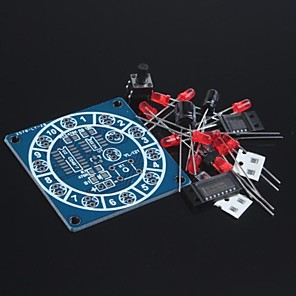 cheap DIY Kits-Electronic Wheel Of Fortune Kit / Fun Electronic Kits / Electronic Dice / DIY Electronic Production