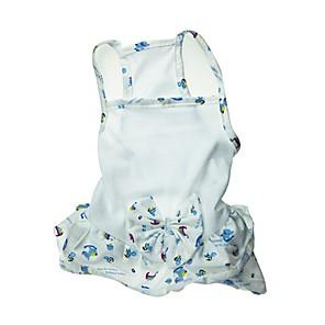 cheap Triathlon Clothing-Cat / Dog Dress White Dog Clothes Summer Bowknot Wedding / Cosplay