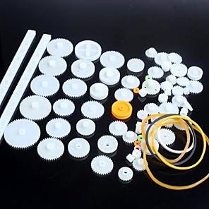 cheap Novelties-75 Kinds of Plastic Gear Motor Gear Robot Parts DIY Model KIT
