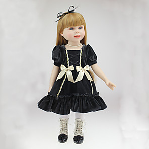 """cheap Reborn Doll-Reborn Doll Princess Doll Girl Doll Newborn lifelike Handmade Child Safe Non Toxic Full Body Silicone 18"""" with Clothes and Accessories for Girls' Birthday and Festival Gifts"""