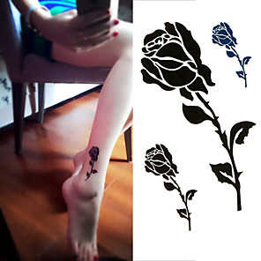 cheap Tattoo Stickers-1 pcs Temporary Tattoos Disposable / High quality, formaldehyde free Hand / Ankle Laminating Tattoo Stickers