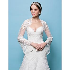 cheap Wedding Wraps-Shrugs Lace Wedding / Party Evening Wedding  Wraps With