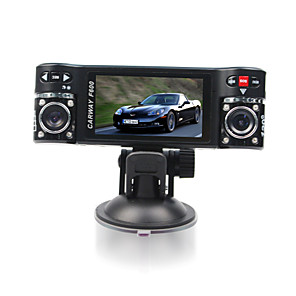 cheap Car DVR-F600 480p G-Sensor / Video Out Car DVR 120 Degree Wide Angle 2.7 inch Dash Cam with motion detection 8 infrared LEDs Car Recorder