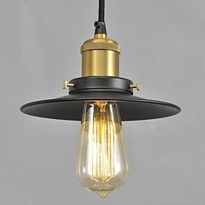 povoljno Otok Svjetla-QINGMING® 22cm(10.24inch) Mini Style Privjesak Svjetla Metal Slikano završi Zemlja 110-120V / 220-240V