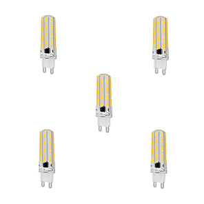 cheap LED Bi-pin Lights-5pcs 10 W LED Corn Lights 1000 lm G9 T 152 LED Beads SMD 3014 Dimmable Warm White Cold White 220-240 V / 5 pcs