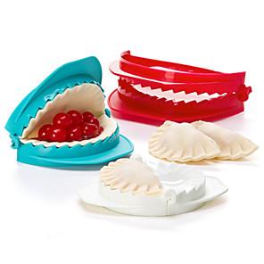 cheap Bakeware-Set of 3 Plastic Dough Press Mold Dumpling Maker Kitchen Tool Gadget