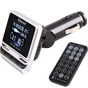 cheap Bluetooth Car Kit/Hands-free-FM Transmitter With Bluetooth Handsfree Car Kit/With Wireless Controller/Bluetooth 2.0/MP3 Play USB/TF Card