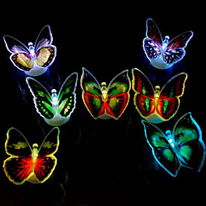 cheap Magic Tricks-Light Colorful Butterflies /LED Paste Colorful Light-emitting Toy(1 PS)