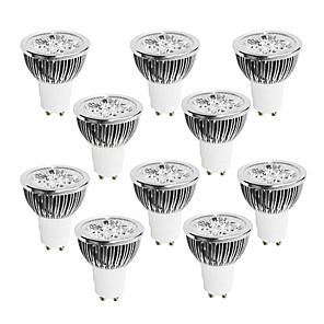 cheap LED Spot Lights-BRELONG 10 pcs 4W GU10 Dimmable LED Light Cup 220V White  Warm White  Natural Light