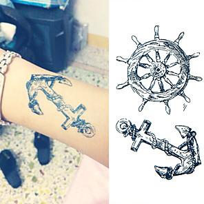 cheap Tattoo Stickers-1 pcs Temporary Tattoos Waterproof / Non Toxic Paper Tattoo Stickers / Lower Back
