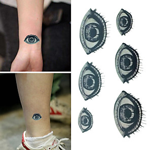 cheap Tattoo Stickers-1 pcs Temporary Tattoos Waterproof / Non Toxic / Halloween Paper Tattoo Stickers / Lower Back