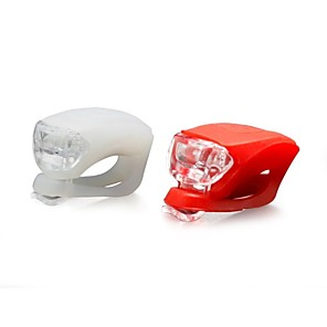 cheap Bike Lights & Reflectors-LED Bike Light Front Bike Light Safety Light Tail Light Mountain Bike MTB Bicycle Cycling Waterproof Multiple Modes Warning Easy to Install CR2032 Camping / Hiking / Caving Cycling / Bike / IPX-4