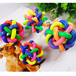 cheap Dog Toys-Ball Interactive Toy Cat Toy Dog Toy Pet Toy Nobbly Wobbly Rubber Gift