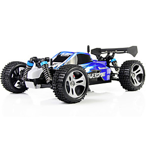 cheap RC Cars-RC Car WLtoys A959 2.4G Buggy (Off-road) / Drift Car / High Speed 1:18 50 km/h Rechargeable / Remote Control / RC / Electric
