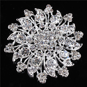 cheap Pins and Brooches-Brooches Stylish Brooch Jewelry Silver For Dailywear