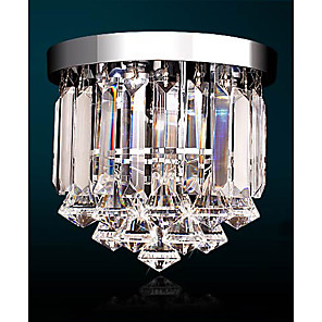 cheap Ceiling Lights-1-Light 25 cm Crystal / Mini Style / LED Chandelier Crystal Electroplated Traditional / Classic 110-120V / 220-240V